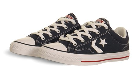 Converse Navy Star Player Ox  - Click to view a larger image