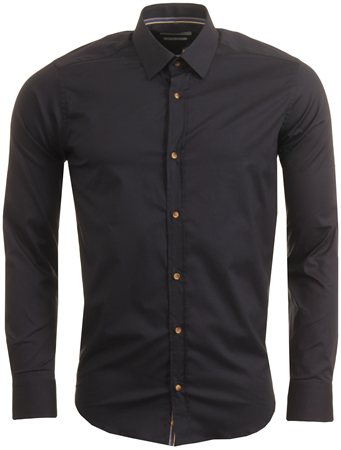 Guide London Navy Dressy Shirt  - Click to view a larger image