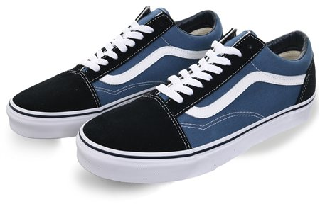 e79180ef85c Vans Navy  Black Old Skool Shoes - Click to view a larger image