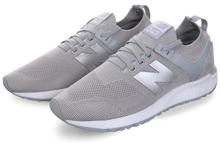 New Balance Grey 247 Rev Lite Classic Trainer  - Click to view a larger image