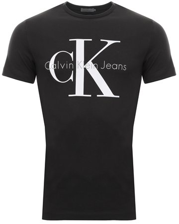 Calvin Klein Meteorite Regular Logo T-Shirt  - Click to view a larger image