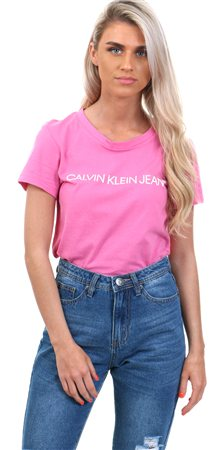 Calvin Klein Wild Orchid Ck T Shirt  - Click to view a larger image