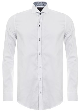Fratelli White Plain Shirt  - Click to view a larger image