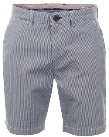 Jack Wills Navy Stripe Widmore Chino Shorts  - Click to view a larger image