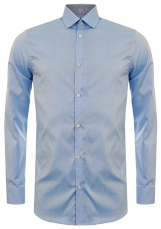 Selected Light Blue Done New Mark Shirt  - Click to view a larger image