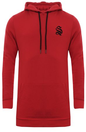 3bc90a8600 Sinners Attire Red Pullover Hoody