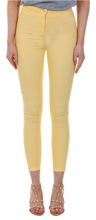 Parisian Yellow Skinny Jegging  - Click to view a larger image
