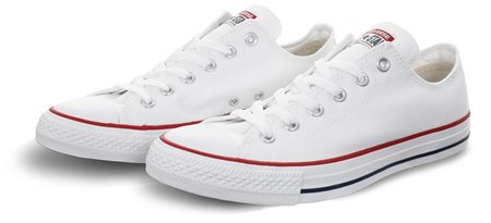 Converse Optical White (Womens) Chuck Taylor All Star Classic  - Click to view a larger image