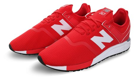 New Balance Cerise With Steel 247 Decon Trainer  - Click to view a larger image