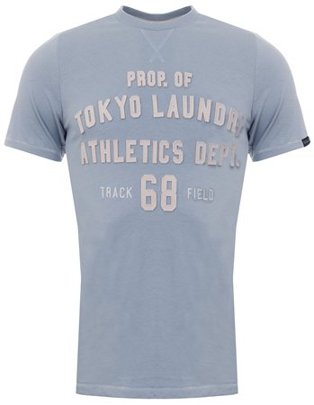 Tokyo Laundry Blue Fog Henryville Tee  - Click to view a larger image