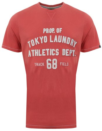Tokyo Laundry Faded Rose Henryville Tee  - Click to view a larger image