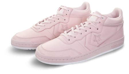 7d4af5bf509 Converse Barely Rose White Fastbreak Leather Mono Lux
