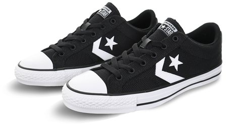 Converse Black/White Star Player Trainer  - Click to view a larger image