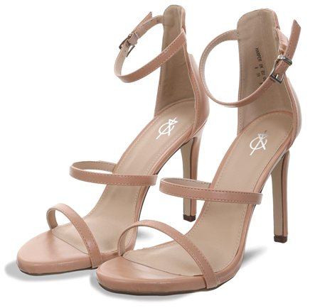 4th & Reckless Nude Harper Strappy Sandal  - Click to view a larger image