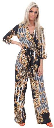 Parisian Black Jumpsuit  - Click to view a larger image