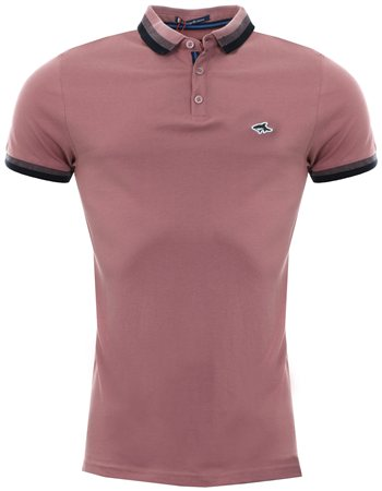 Le Shark Dusty Pink Polo Shirt  - Click to view a larger image