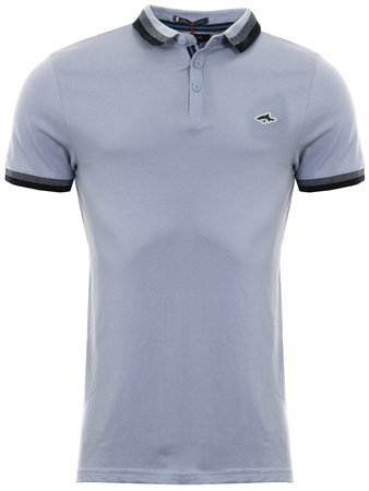 Le Shark Blue Polo Shirt  - Click to view a larger image