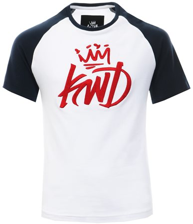 Kings Will Dream White Orland Reglan T-Shirt  - Click to view a larger image
