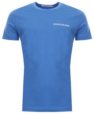Calvin Klein Regatta Small Logo Printed T-Shirt  - Click to view a larger image