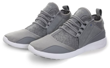 Superdry Grey Super Lite Runner Trainer  - Click to view a larger image
