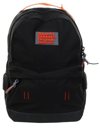 Superdry Dark Grey Marl Real Montana Rucksack  - Click to view a larger image
