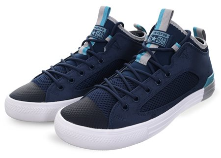 Converse Navy/Wolf Grey Ctas Utra Ox Trainer  - Click to view a larger image
