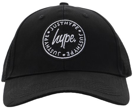 Hype Black Laser Polka Dad Hat  - Click to view a larger image