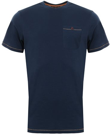 Sth Shore Insignia Blue Short Sleeve Coco Pocket Tee  - Click to view a larger image