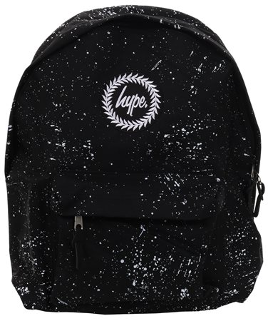 Hype Black/White Speckle Back Pack  - Click to view a larger image