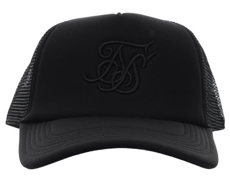 Siksilk Black Foam Trucker Cap  - Click to view a larger image