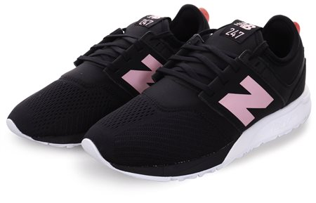 New Balance Black/Pink 247 Rev Lite Classic Trainer  - Click to view a larger image