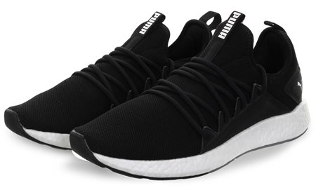 Puma Black Nrgy Neko Running Shoes  - Click to view a larger image