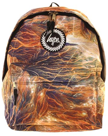 Hype Multi Brown Mountain Trails Back Pack  - Click to view a larger image