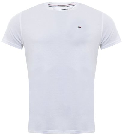 Hilfiger Denim Classic White Organic Cotton T-Shirt  - Click to view a larger image