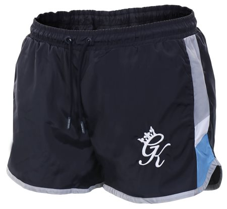 f41d207aa8 Gym King Navy Nights Retro Swim Shorts | | Shop the latest fashion online @  DV8