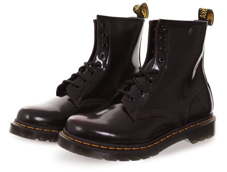 Dr Martens Red 1460 Pascal Antique Temperley Boot  - Click to view a larger image