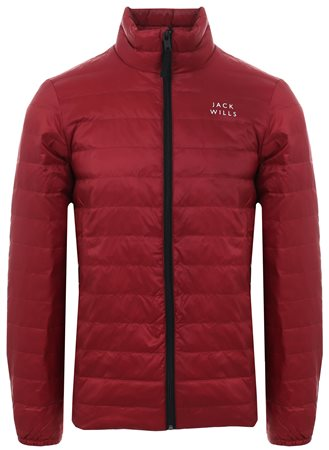 Jack Wills Damson Nevis Lightweight Down Jacket  - Click to view a larger image