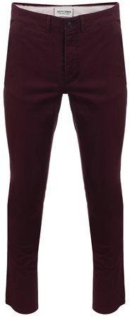 Jack & Jones Wine Tasting Marco Enzo Slim Fit Chinos  - Click to view a larger image