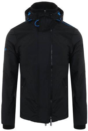 1900d61c Superdry Black / Super Denby Pop Zip Arctic Hooded Sd-Windcheater Jacket |  | Shop the latest fashion online @ DV8