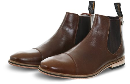 Superdry Brown Leather Meteora Boots  - Click to view a larger image