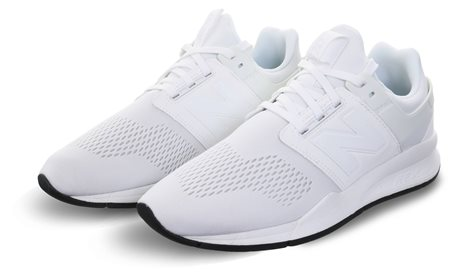 New Balance White Munsell 247 Revlite Trainer  - Click to view a larger image