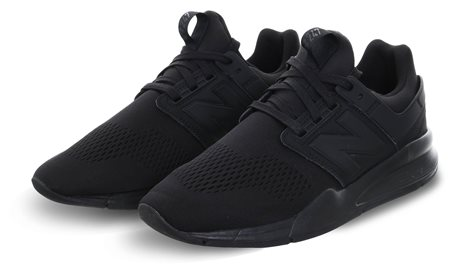 New Balance Black/Black 247 Revlite Trainer  - Click to view a larger image