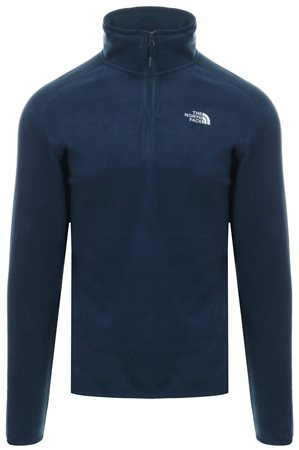 The North Face Urban Navy 100 Glacier Fleece Zip Jacket  - Click to view a larger image