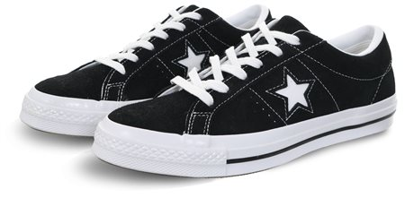 BlackWhite (Womens) One Star Premium Suede 3