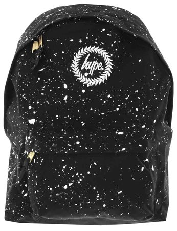 Hype Black With White Speckle Backpack  - Click to view a larger image