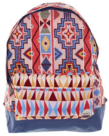 Roxy Multi Sugar Baby Medium Backpack  - Click to view a larger image