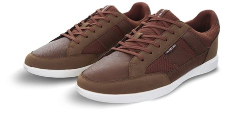 Jack & Jones Brown Byson Casual Sneakers  - Click to view a larger image
