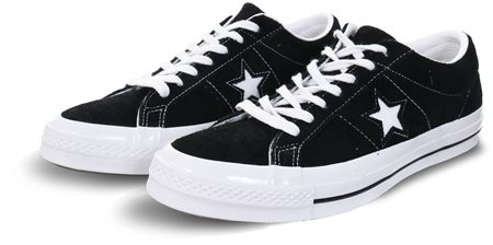 48074f5a0fd4 Converse Black White (Mens) One Star Premium Suede - Click to view a