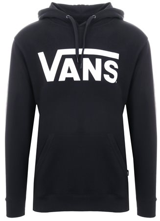 b204df88e Vans Black-White Classic Pullover Hoodie | | Shop the latest fashion online  @ DV8