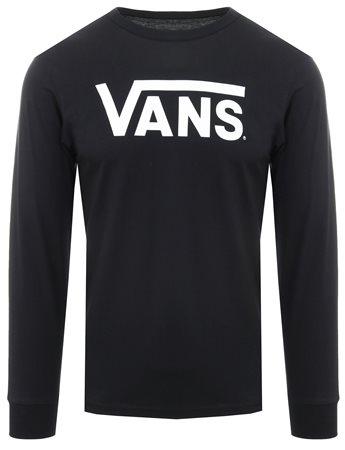 vans long sleeve black